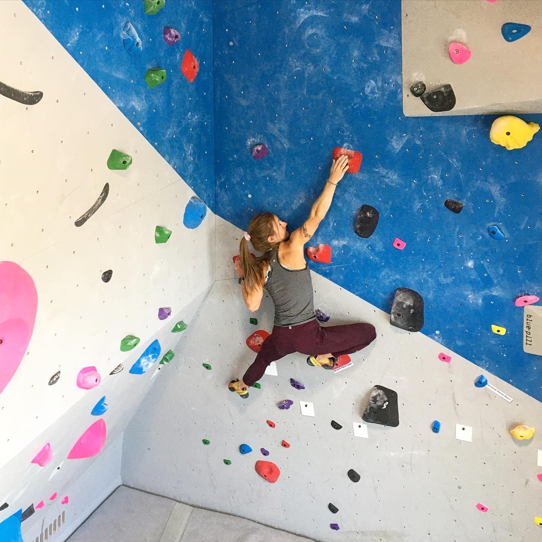 indoor rock climbing challenges